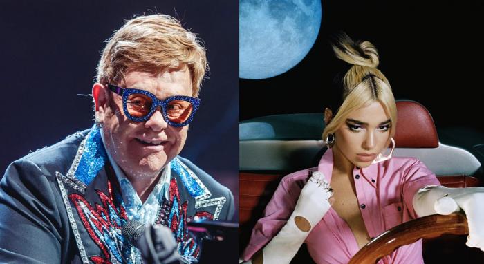 Sir Elton John elogia a Dua Lipa por crear 'uno de los mejores álbumes del año'