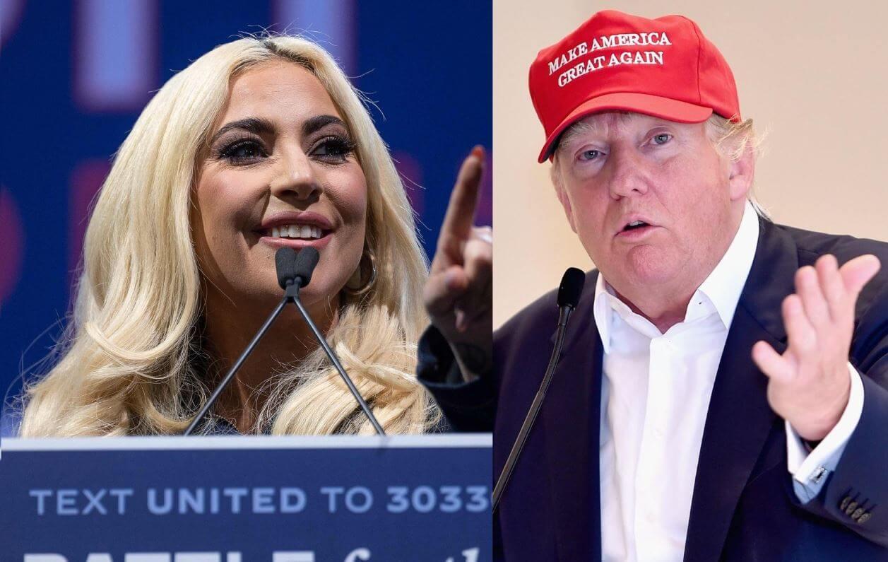 """Lady Gaga sobre Donald Trump: """"cree que su fama le da derecho de arremeter contra las mujeres"""""""