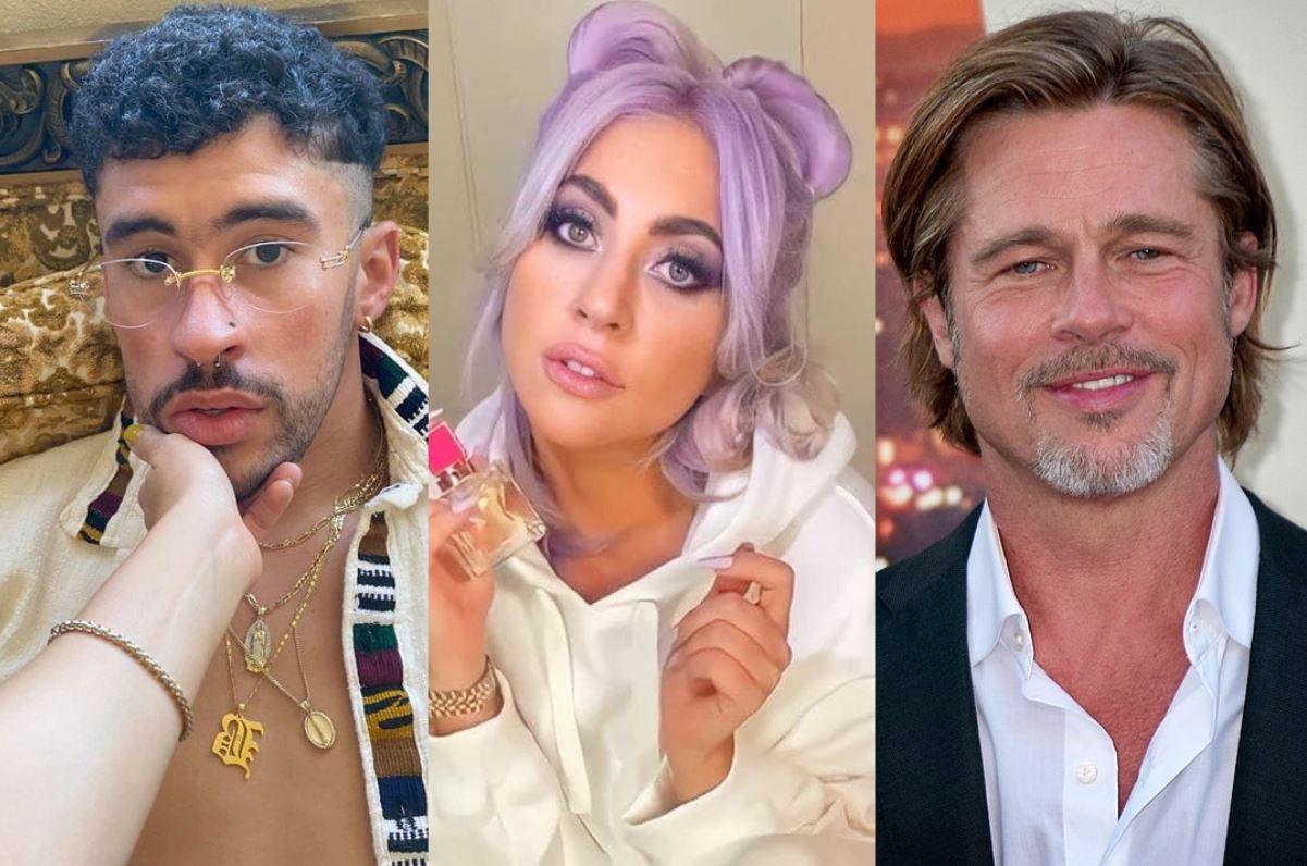 Bad Bunny y Lady Gaga actuarán juntos en la película 'Bullet Train' protagonizada por Brad Pitt