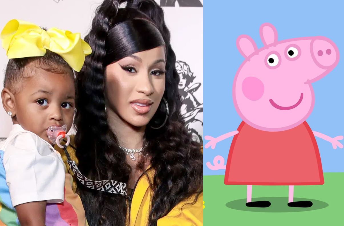 Cardi B amenaza con quitarle la vida a Peppa Pig por darle malos ejemplos a su hija Kulture