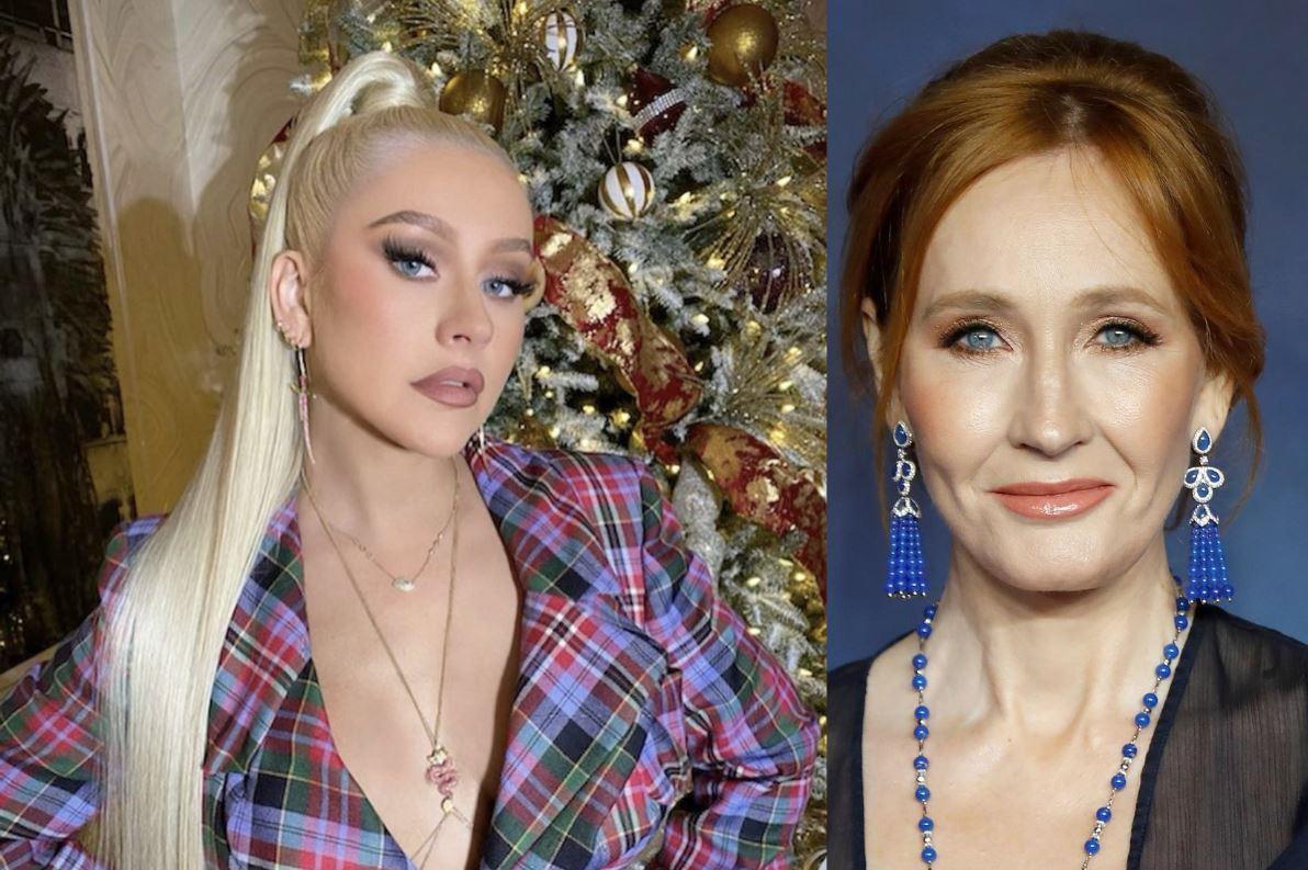 Christina Aguilera canta en honor a los fallecidos del 2020, incluyendo la carrera de J.K. Rowling