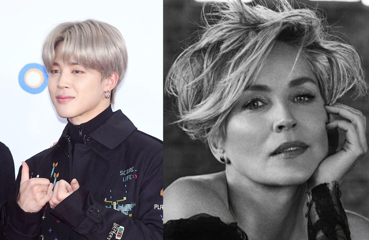 Jimin de BTS cautiva a la galardonada actriz de Hollywood Sharon Stone con su adorable belleza