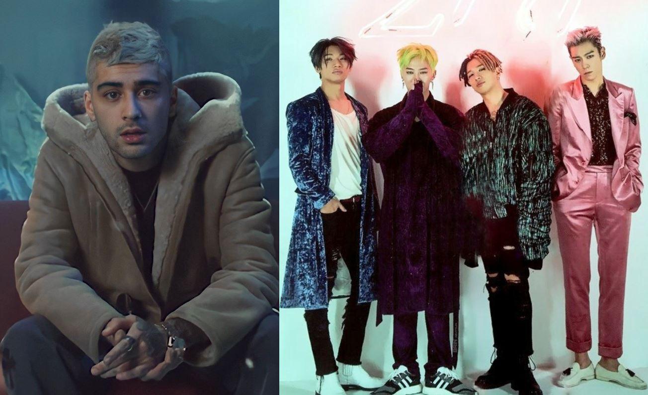 Zayn es fan del K-pop e incluso nombra a 'Loser' de BIGBANG como uno de sus temas favoritos