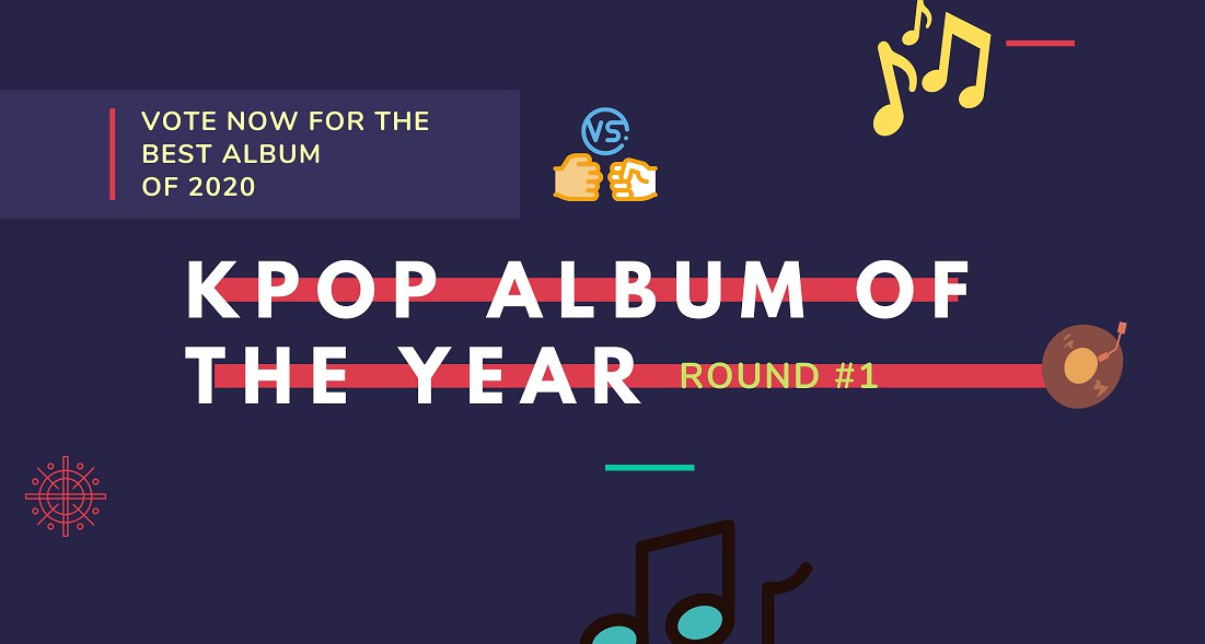 KPOP ALBUM OF THE YEAR – Vote Now for your favorite disk!