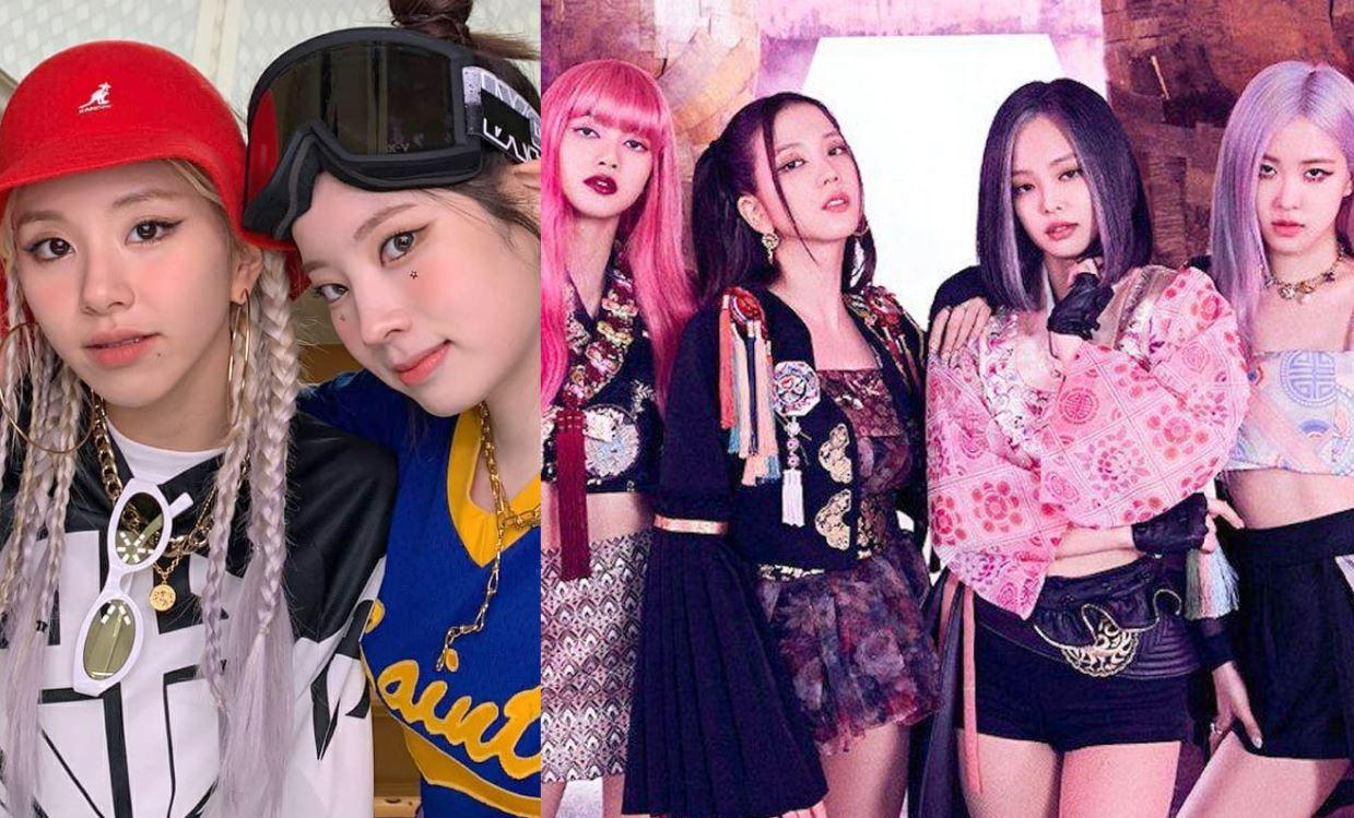 Dahyun y Chaeyoung de TWICE son acusadas de copiar a BLACKPINK en su nuevo video musical
