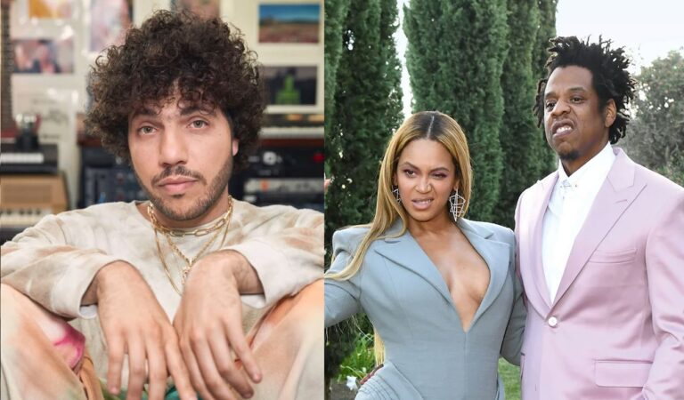 Benny Blanco revela que se besó accidentalmente con Beyoncé y pensó que Jay-Z lo mataría