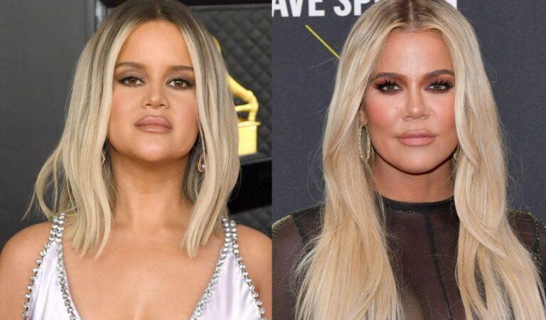 Confunden a Maren Morris con Khloé Kardashian durante su presentación en los GRAMMYs
