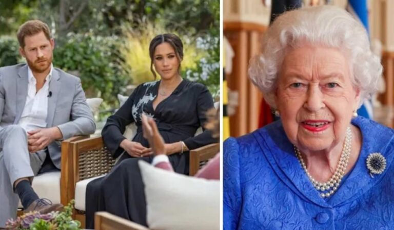 La Reina Isabel le responde al príncipe Harry y a Meghan Markle tras polémicas acusaciones de racismo