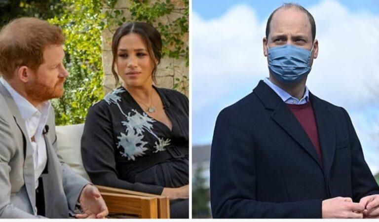 Príncipe William enfurece y responde a acusaciones de racismo por parte de su hermano y cuñada