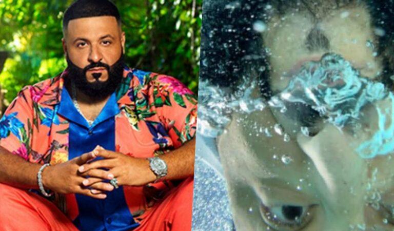 DJ Khaled recibe noticias sorprendentes y se lanza a la piscina de la emoción