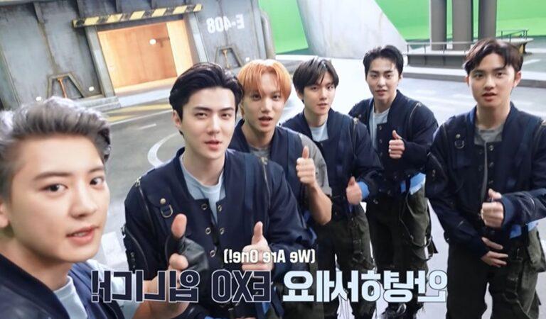 EXO nos sorprende con spoilers sobre su nuevo video musical