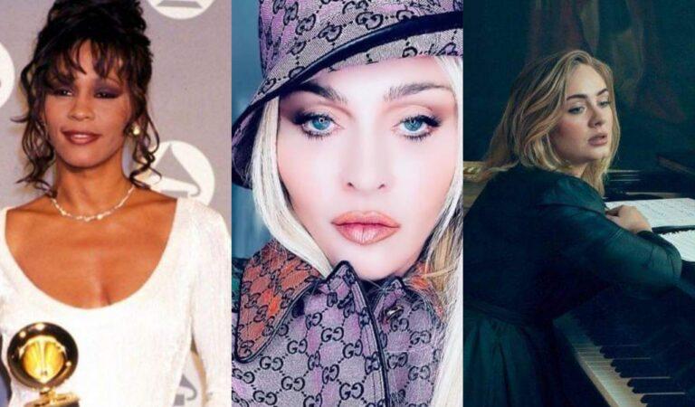 Conoce el top 10 de los álbumes femeninos más vendidos de todos los tiempos