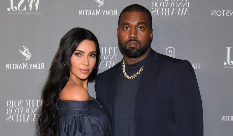 Kanye West en medio de tramites de divorcio continua usando su anillo de boda