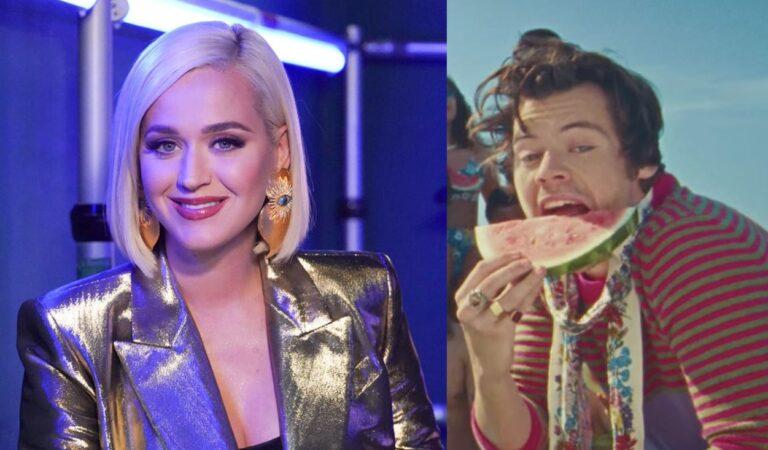 Katy Perry prohíbe cantar 'Watermelon Sugar' de Harry Styles en American Idol