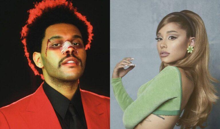 Ariana Grande y The Weeknd anuncian colaboración musical