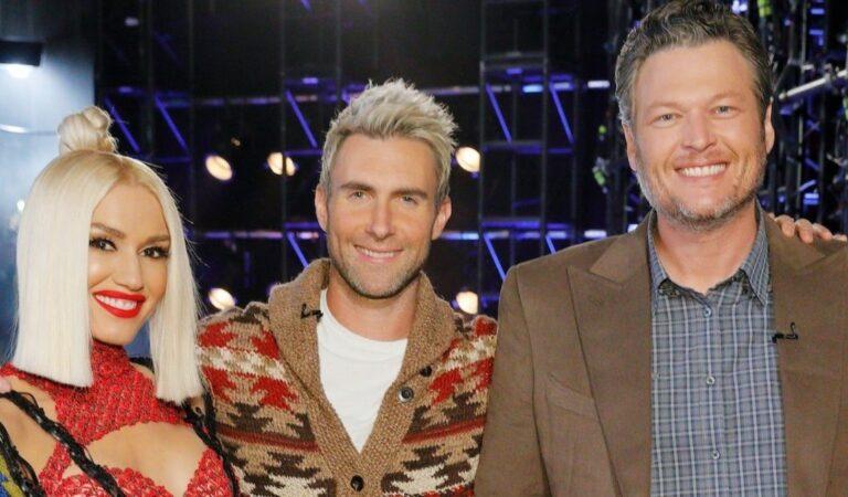 Adam Levine bromea sobre no apoyar la boda de Blake Shelton y Gwen Stefani