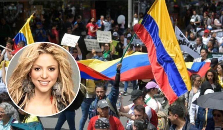 Artistas se pronuncian sobre las protestas en Colombia