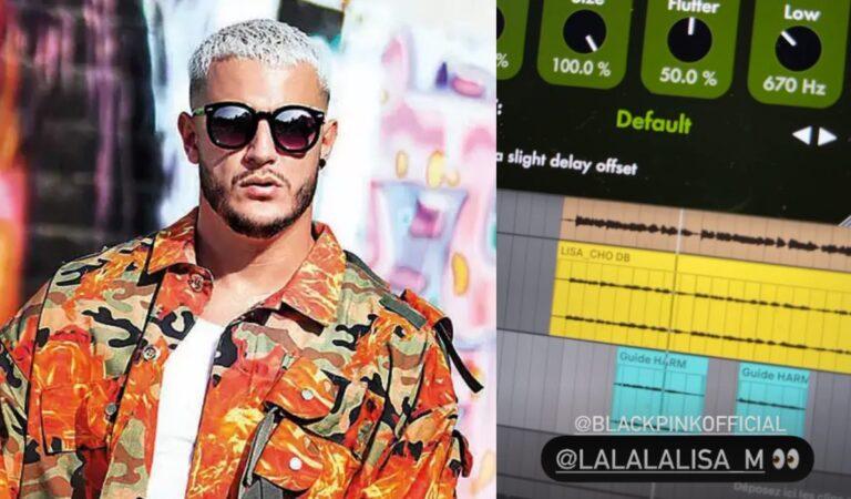 DJ Snake publica un posible adelanto de la colaboración con Lisa de BLACKPINK