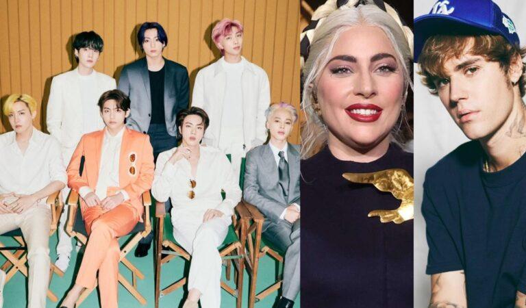 Descubra la razón por la que China censuró a BTS, Justin Bieber y Lady Gaga