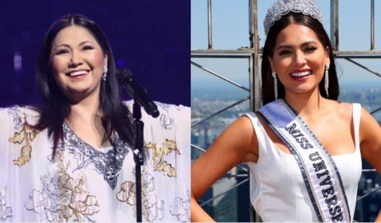 """Ella la abandonó"": Periodista afirma que Ana Gabriel es la verdadera madre de la nueva Miss Universo"