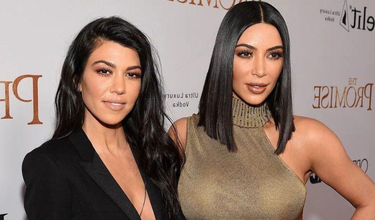 Kim Kardashian acusa a su hermana Kourtney de 'degradar' a una niñera
