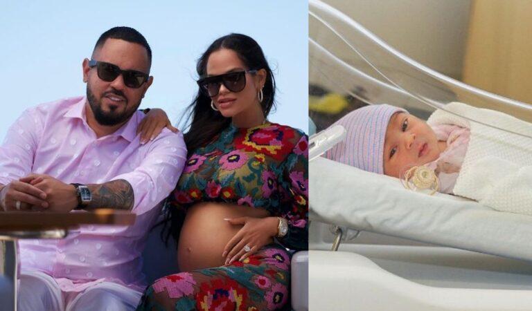Primer vistazo y todos los detalles del nacimiento de la hija de Natti Natasha