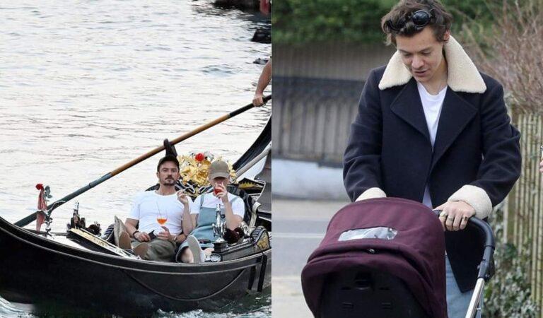 Katy Perry y Orlando Bloom disfrutan sus vacaciones mientras Harry Styles cuida a su hija Daisy