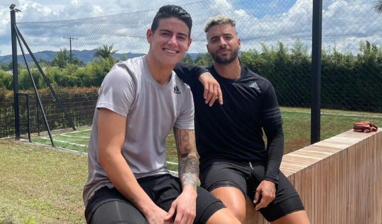 Maluma y James Rodríguez pasaron juntos el fin de semana y las redes sociales estallan