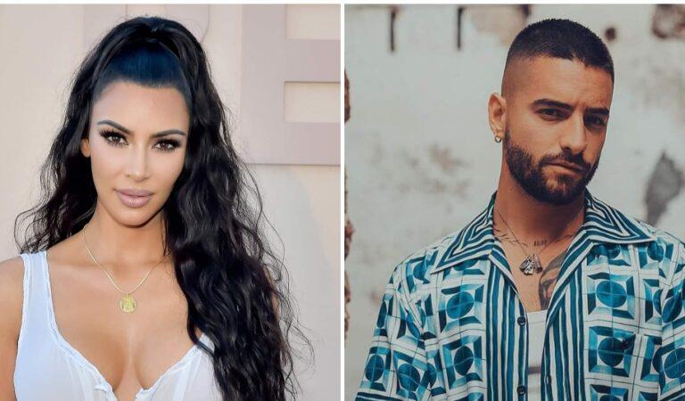Kim Kardashian y Maluma estarían en una relación amorosa; salieron ayer juntos de una fiesta en Miami