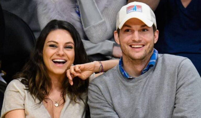 Ashton Kutcher y Mila Kunis revelan que tienen una extraña rutina de baño