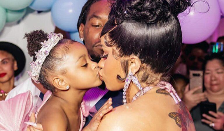 Conoce el costo del extravagante regalo de Cardi B para su hija en su 3er cumpleaños
