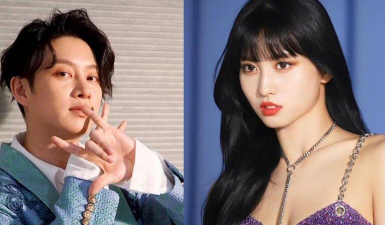 Agencias de TWICE y SUPER JUNIOR confirman que Momo y Heechul terminaron su relación