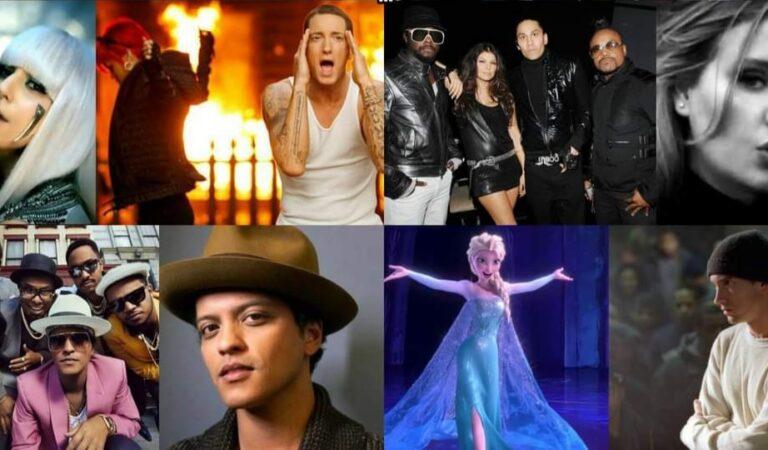 Descubre el top 50 de las canciones con más ventas puras digitales en toda la historia