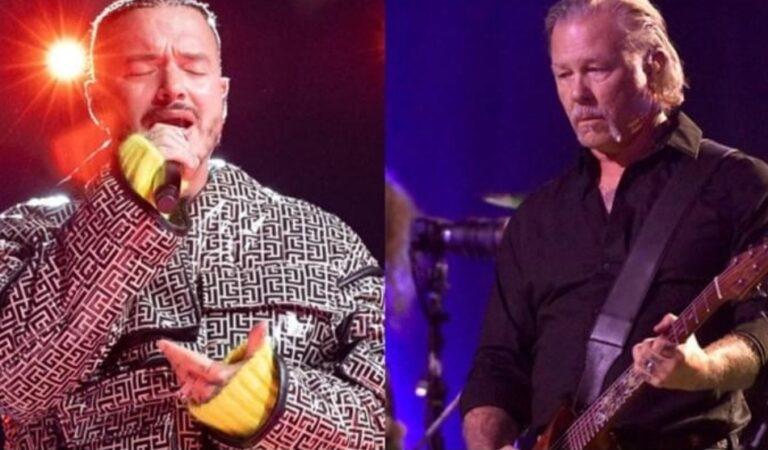 """Vea cómo están destruyendo al cover que J Balvin hizo para la banda Metallica, """"Da vergüenza ajena"""""""