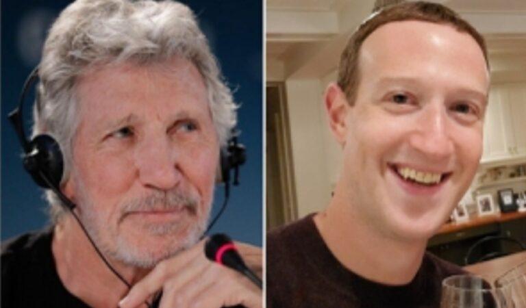 """Roger Waters insulta a Mark Zuckerberg por intentar comprarle canción: """"De los idiotas más poderosos que existe"""""""