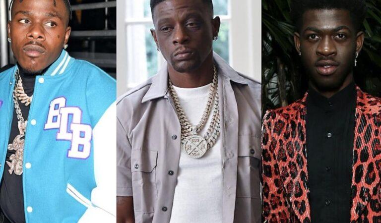 Rapero Boosie Badazz insulta y amenaza con golpear a Lil Nas X por ser Gay y defiende a DaBaby