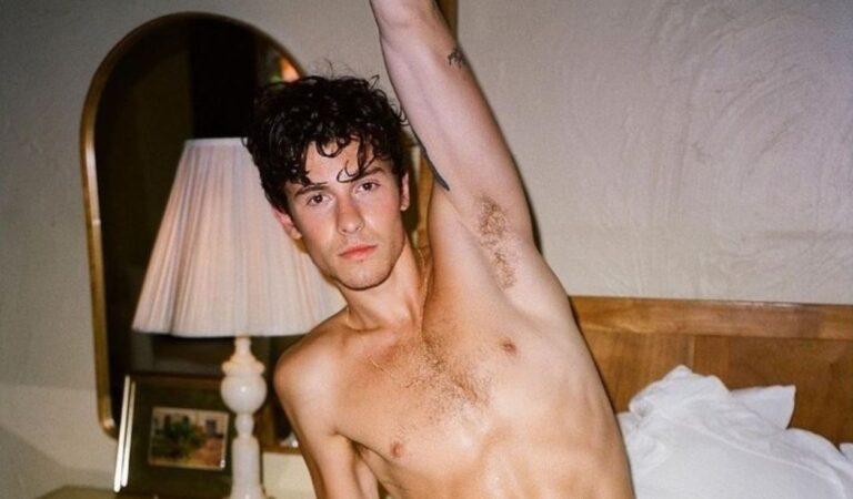 Shawn Mendes se lo quita todo al posar mas sexy que nunca para la revista Wonderland