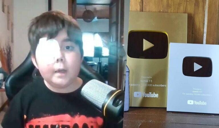 Fallece Tomiii 11 tras cumplir su sueño de ser un Youtuber famoso