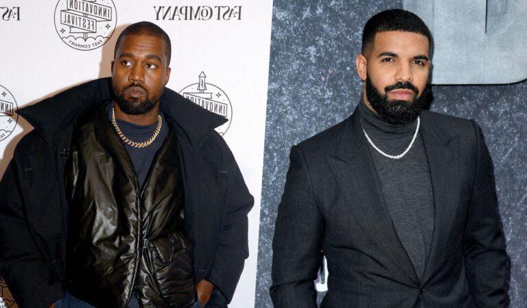 Tras fuerte pelea Kanye West divulga en redes la dirección de Drake