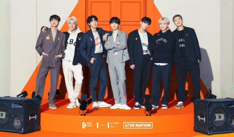 BTS anuncia primeros conciertos en persona post pandemia