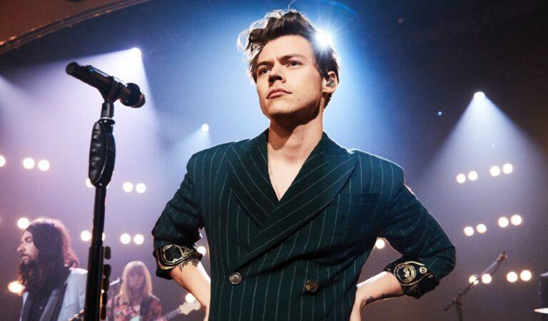 Harry Styles vacunará a los fanáticos en los shows de 'Love On Tour'