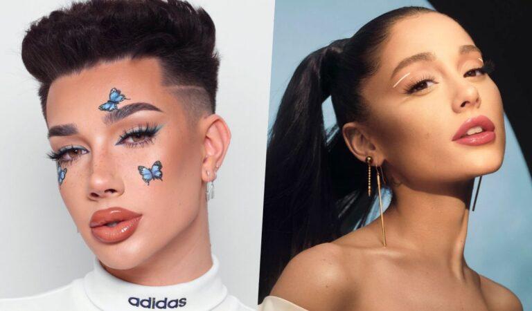 James Charles se lamente por el ataque a Ariana Grande en 2018