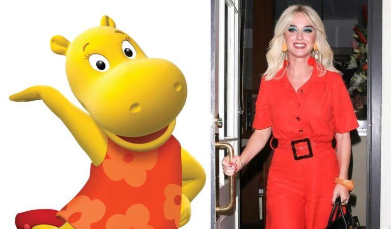 Katy Perry es acusada de copiarle el estilo a Tasha de The Backyardigans