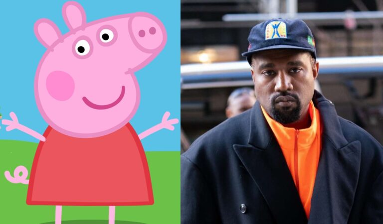 Peppa Pig se burla del nuevo álbum de Kanye West y su pésima crítica