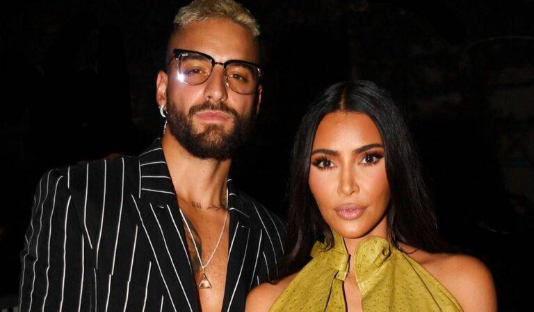 Maluma responde a los rumores de citas con Kim Kardashian